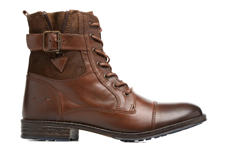 Bottines et boots Mustang shoes Muwa Marron vue derrière