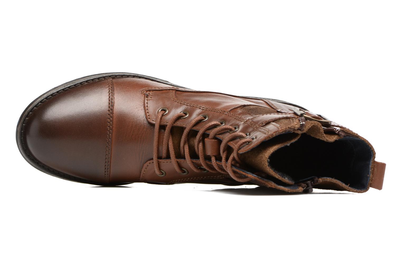 Bottines et boots Mustang shoes Muwa Marron vue gauche