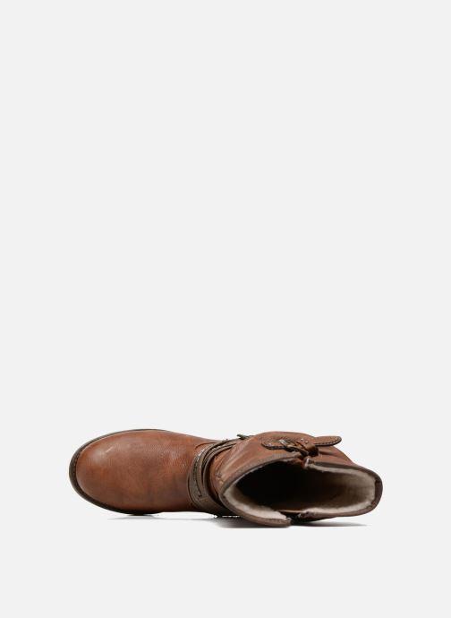 Laarzen Mustang shoes Muze Bruin links