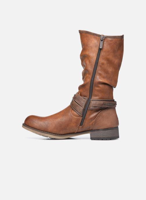 Bottes Mustang shoes Muze Marron vue face