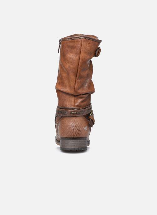Bottes Mustang shoes Muze Marron vue droite