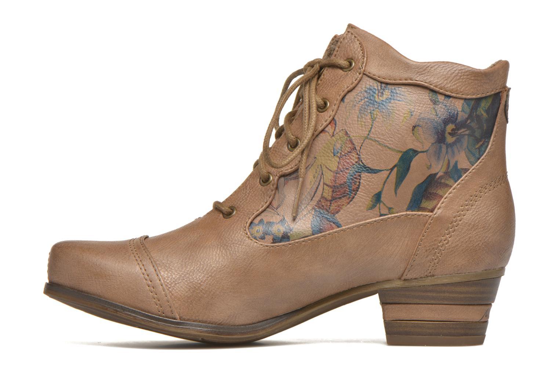 Boots en enkellaarsjes Mustang shoes Manur Bruin voorkant