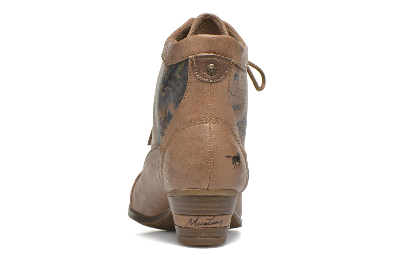 Boots en enkellaarsjes Mustang shoes Manur Bruin rechts