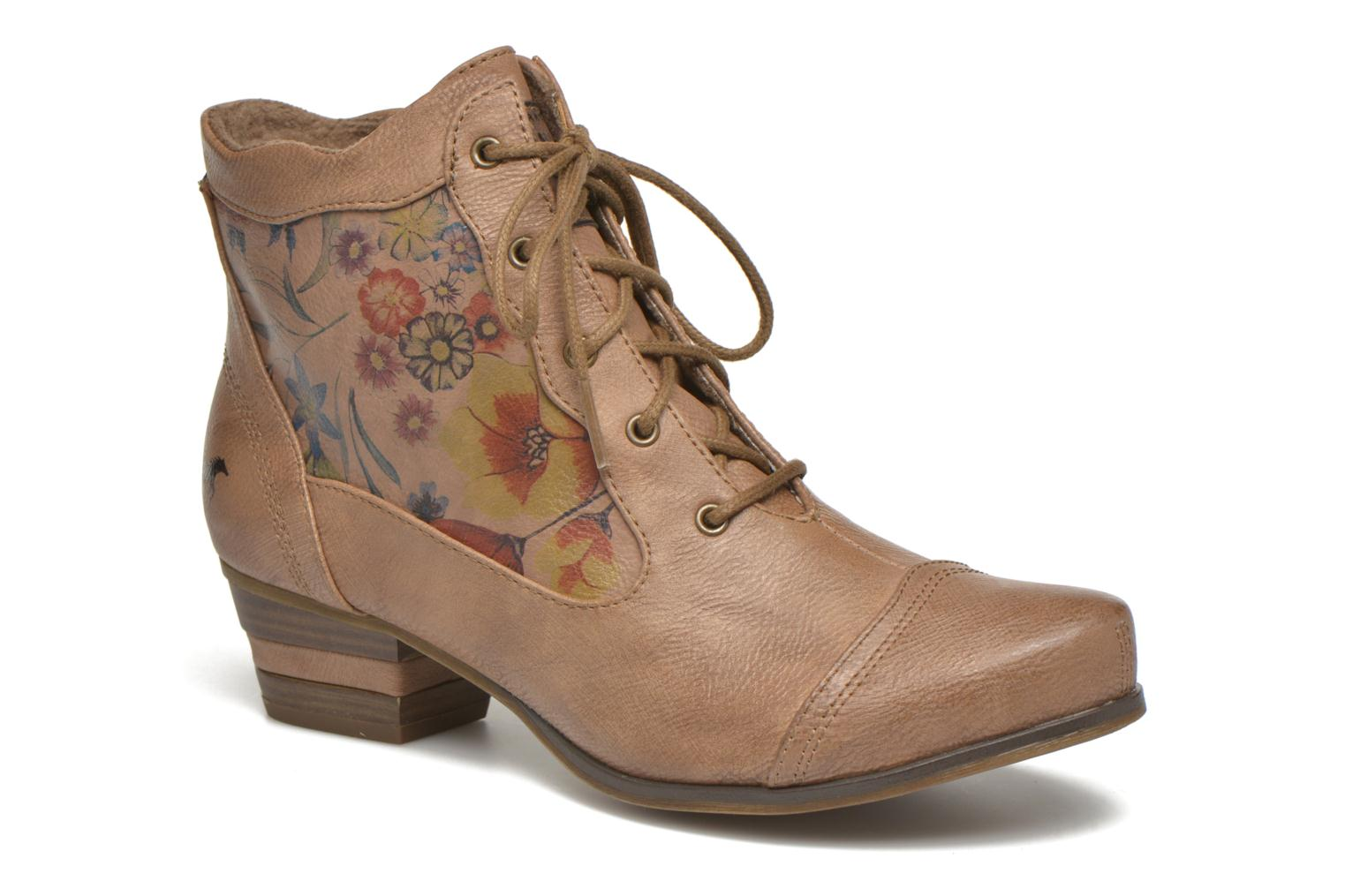 Ankle boots Mustang shoes Manur Brown detailed view/ Pair view