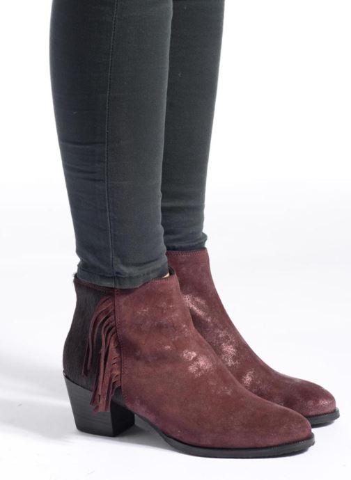 Boots en enkellaarsjes Softwaves West 02 Bordeaux onder