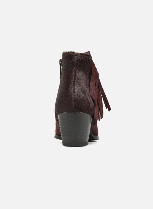 Boots en enkellaarsjes Softwaves West 02 Bordeaux rechts