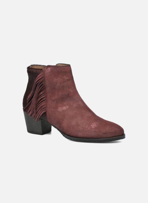 Boots en enkellaarsjes Softwaves West 02 Bordeaux detail