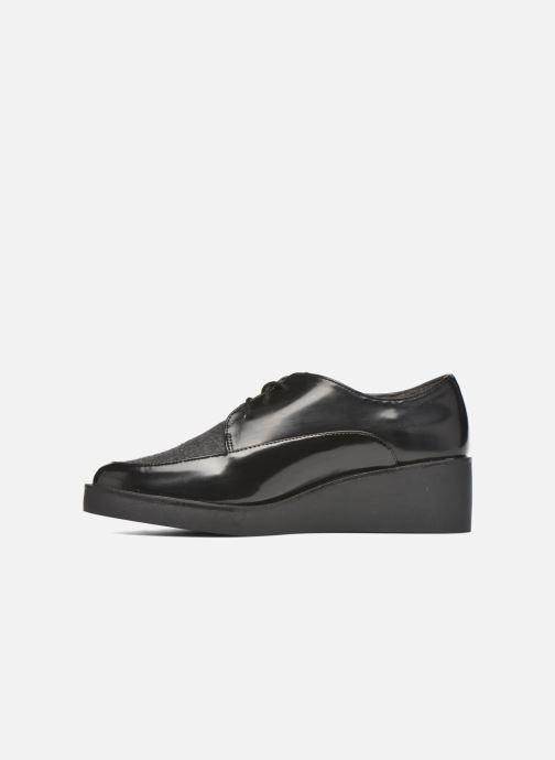 Zapatos con cordones André Cab Negro vista de frente