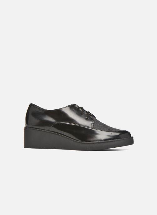 Zapatos con cordones André Cab Negro vistra trasera