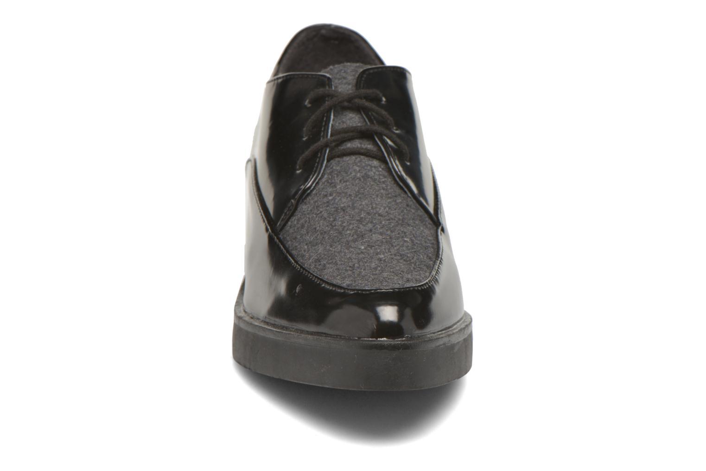 Chaussures à lacets André Cab Noir vue portées chaussures