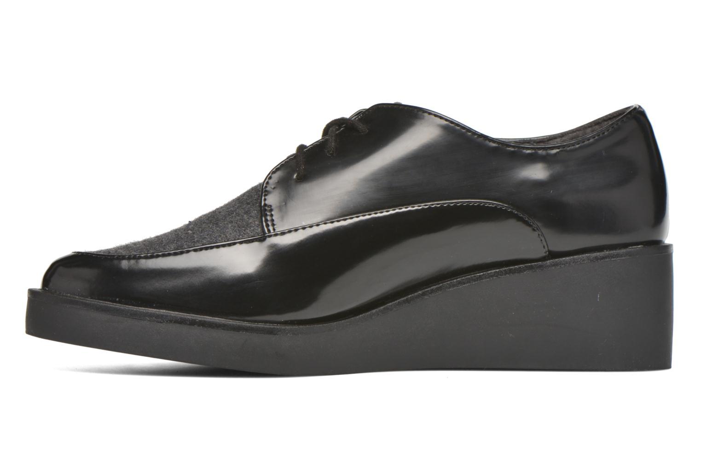 Chaussures à lacets André Cab Noir vue face