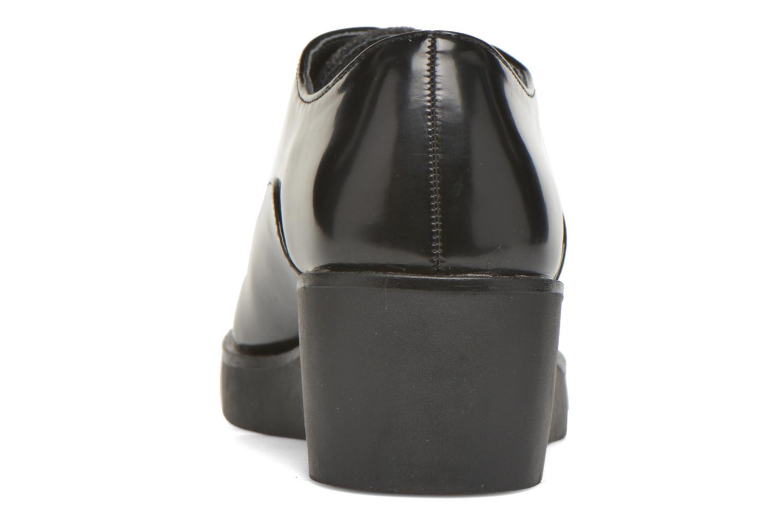 Chaussures à lacets André Cab Noir vue droite