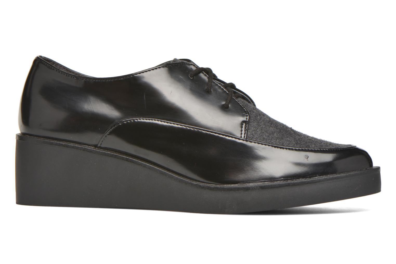 Chaussures à lacets André Cab Noir vue derrière