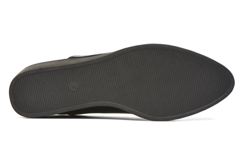 Chaussures à lacets André Cab Noir vue haut