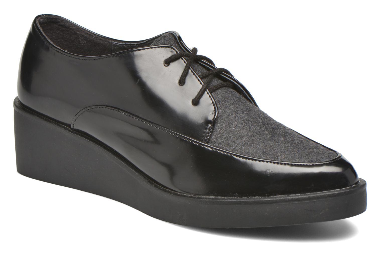 Chaussures à lacets André Cab Noir vue détail/paire