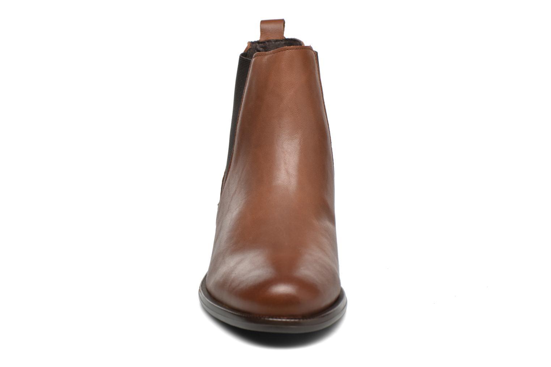 Bottines et boots André Caramel Marron vue portées chaussures