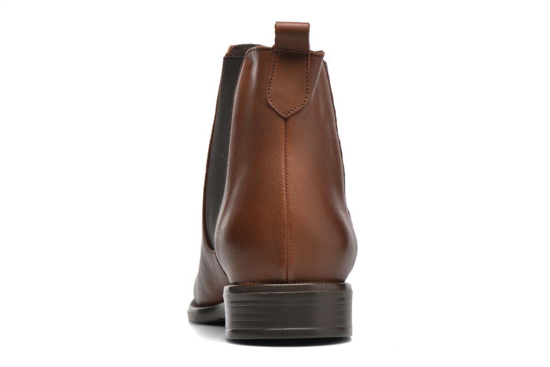 Bottines et boots André Caramel Marron vue droite