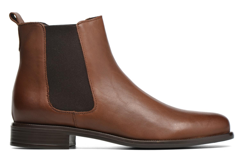 Bottines et boots André Caramel Marron vue derrière