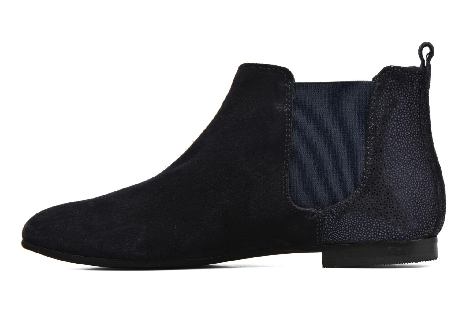 Ankle boots André Carrousel Blue front view