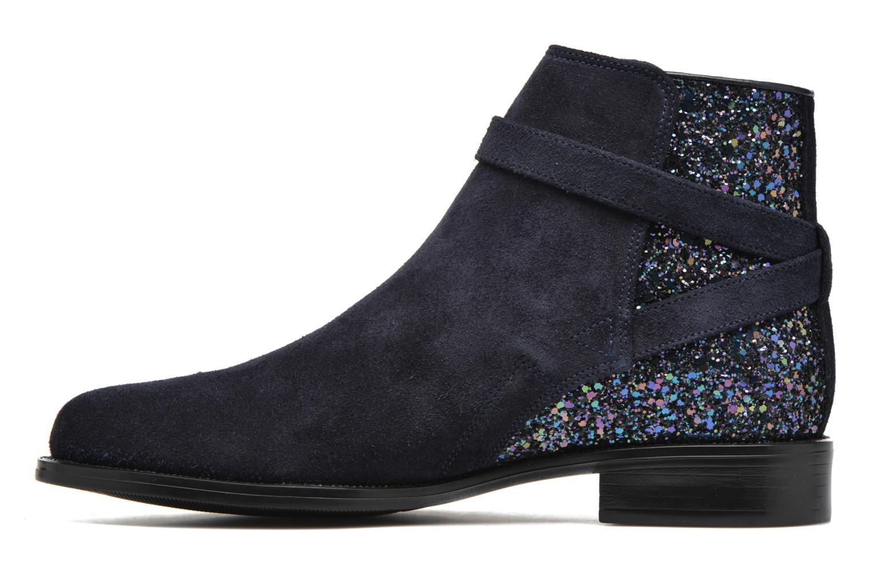 Bottines et boots André Caviar P2 Bleu vue face