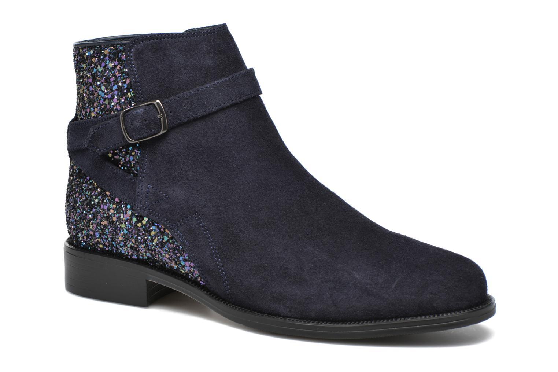 Bottines et boots André Caviar P2 Bleu vue détail/paire