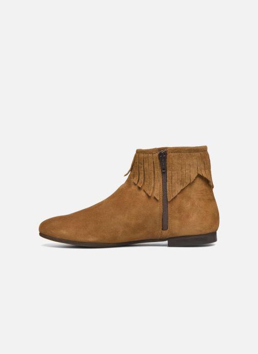 Bottines et boots André Coachella Marron vue face