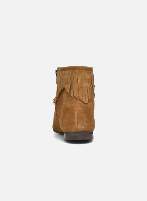 Bottines et boots André Coachella Marron vue droite