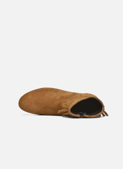 Ankelstøvler André Coachella Brun se fra venstre