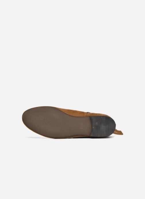 Bottines et boots André Coachella Marron vue haut