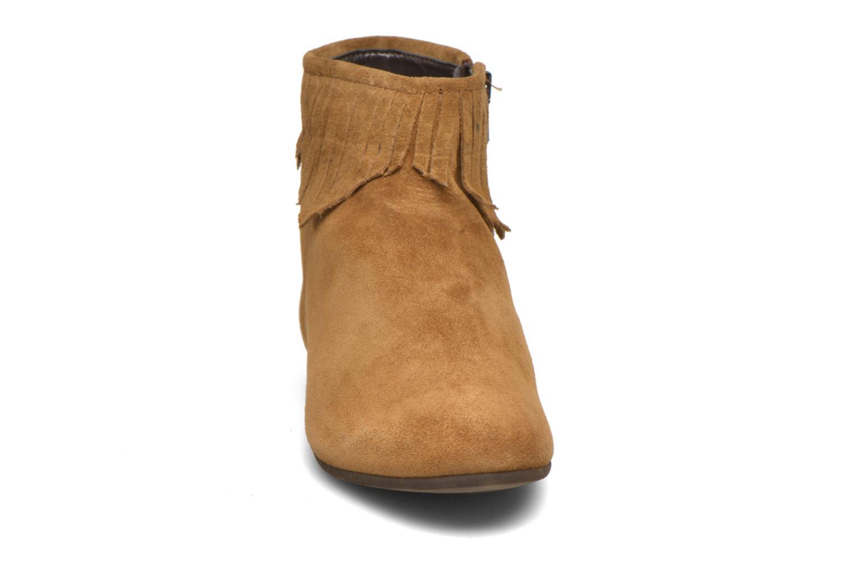 Bottines et boots André Coachella Marron vue portées chaussures