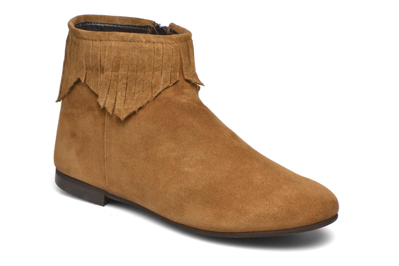 Bottines et boots André Coachella Marron vue détail/paire