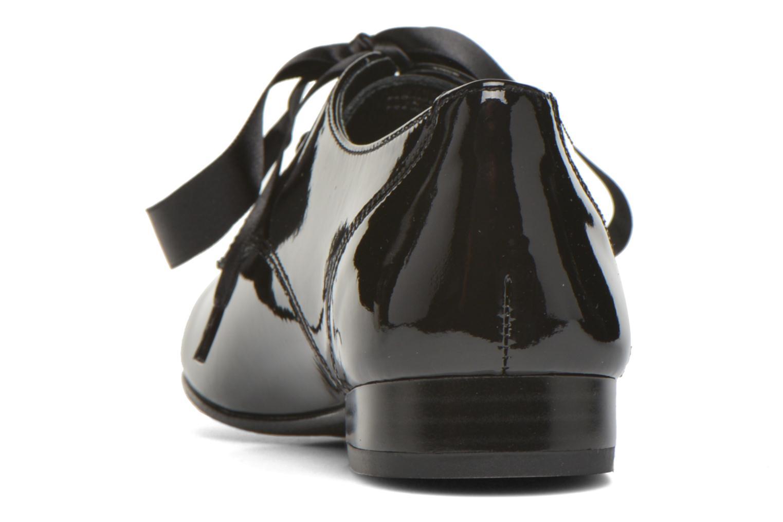 Chaussures à lacets André Gourmandise Noir vue droite