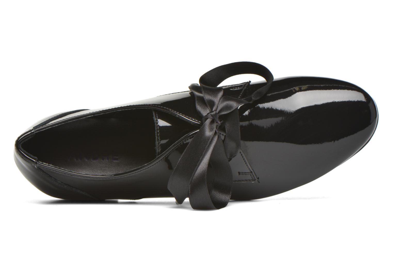 Chaussures à lacets André Gourmandise Noir vue gauche