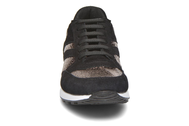 Baskets André Manon Or et bronze vue portées chaussures