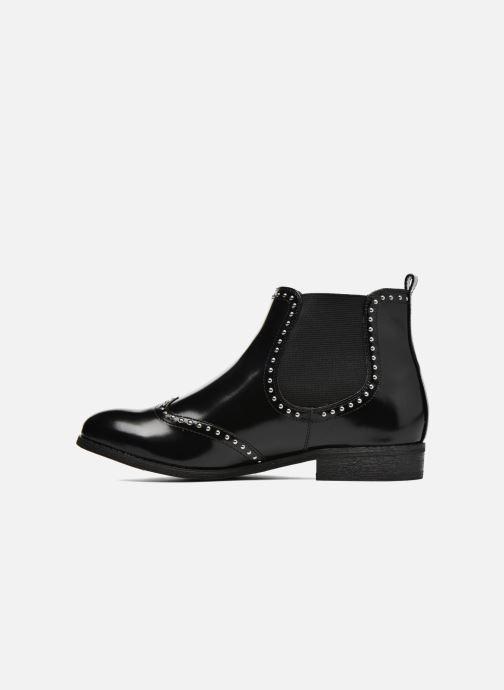 Bottines et boots André Metal Noir vue face