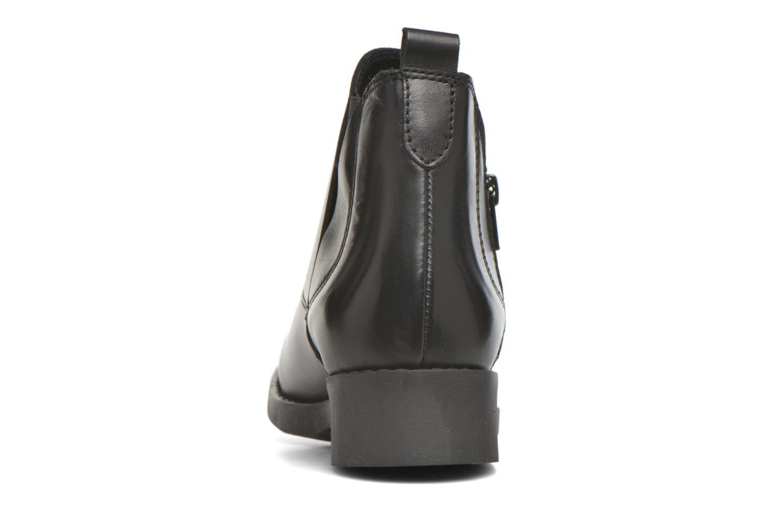 Ankle boots André Mika Black view from the right