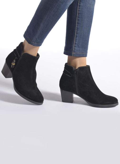 843649136fd Ankle boots André Mistinguette Black view from underneath   model view