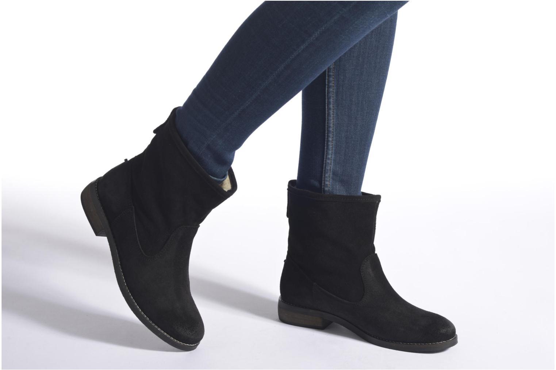 Bottines et boots André Mountain Noir vue bas / vue portée sac