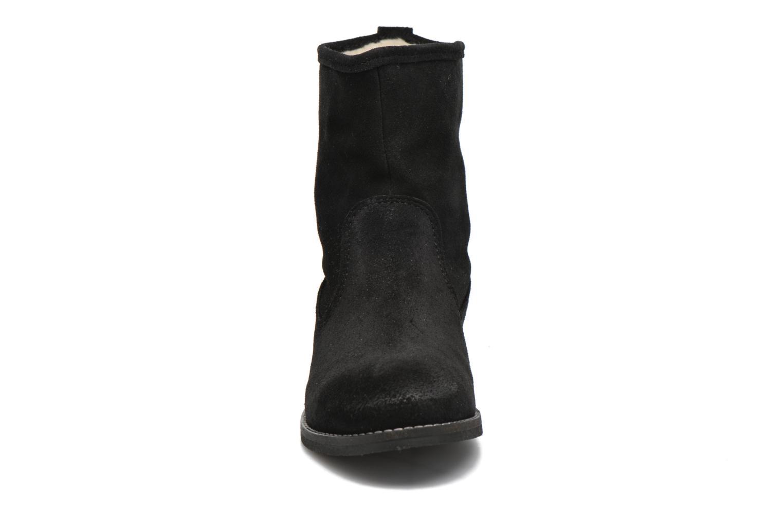Bottines et boots André Mountain Noir vue portées chaussures
