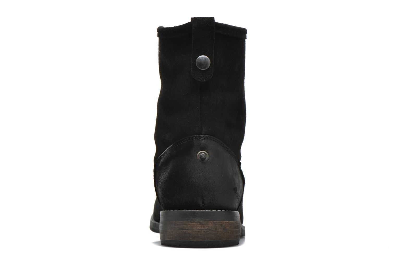 Bottines et boots André Mountain Noir vue droite