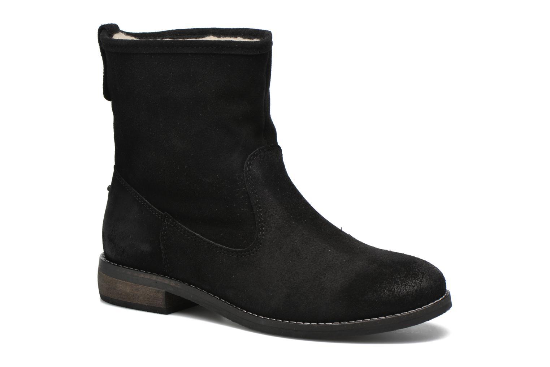 Bottines et boots André Mountain Noir vue détail/paire