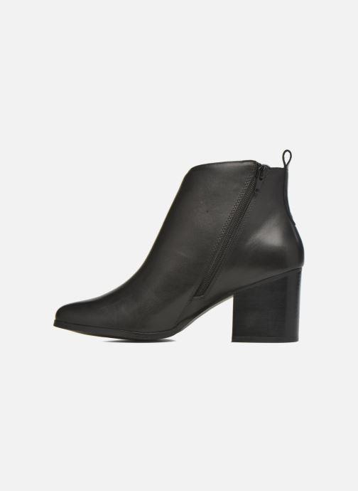 Bottines et boots André Paolina Noir vue face
