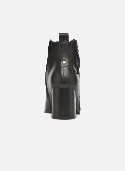 Bottines et boots André Paolina Noir vue droite