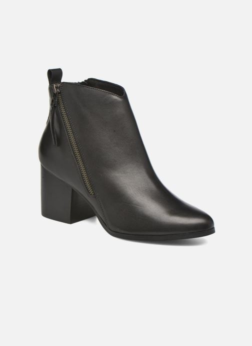 edbc0140255 ... Chaussure femme · André femme  Paolina. Bottines et boots André Paolina  Noir vue détail paire