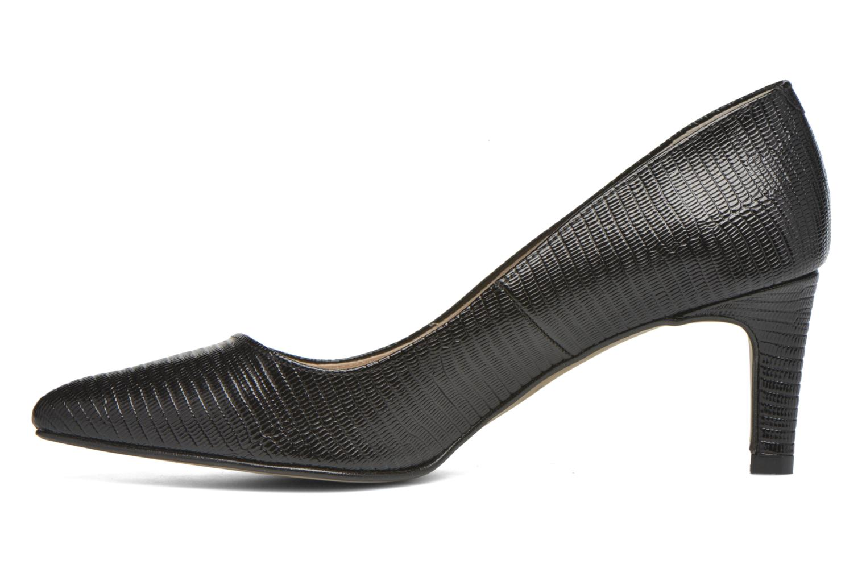 High heels André Parissa Black front view