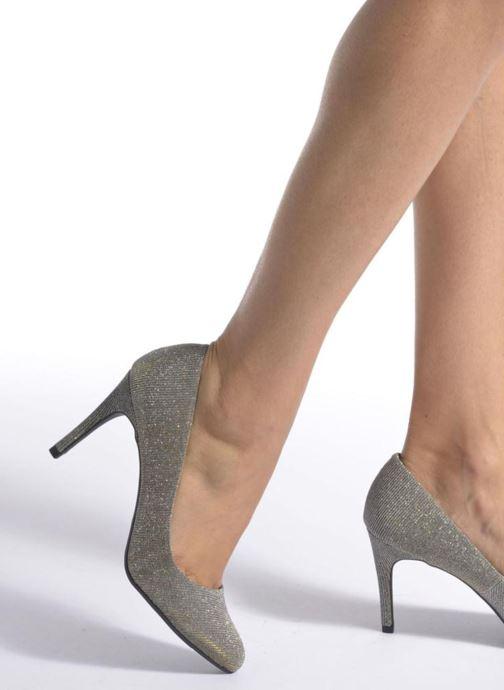 Zapatos de tacón André Prettty Plateado vista de abajo