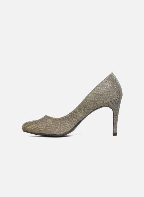 Zapatos de tacón André Prettty Plateado vista de frente