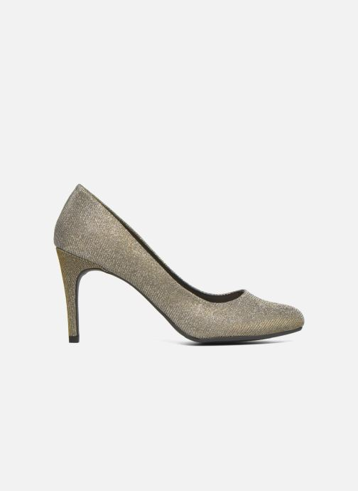 Zapatos de tacón André Prettty Plateado vistra trasera