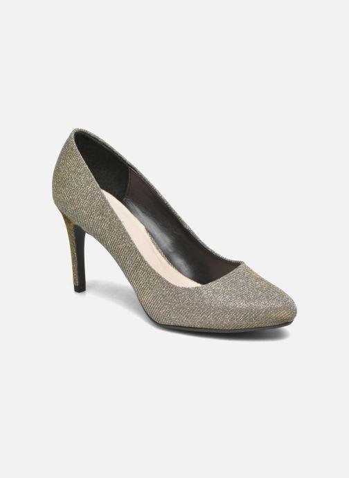 Høje hæle André Prettty Sølv detaljeret billede af skoene