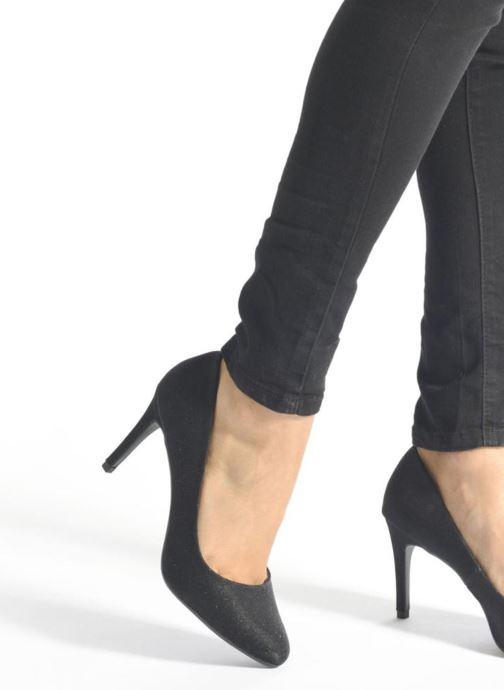 Zapatos de tacón André Prettty Negro vista de abajo